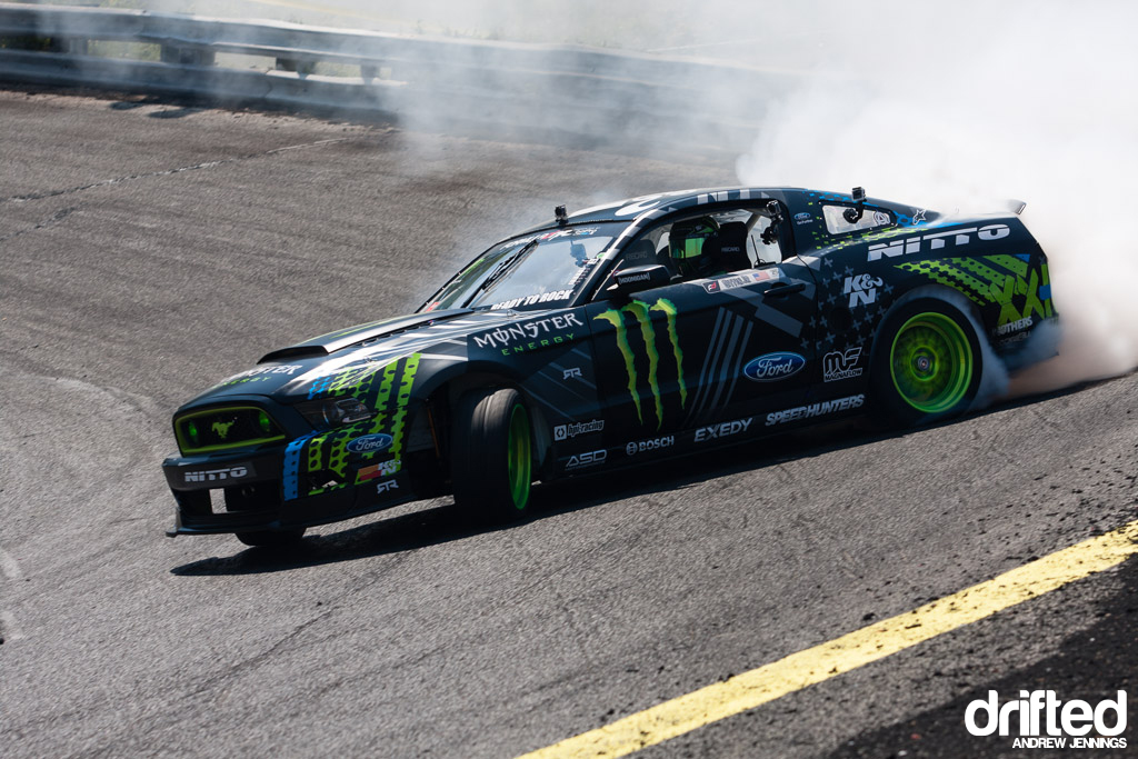Vaughn Gittin Jr. Monster Energy Nitto Tire Ford Mustang RTR