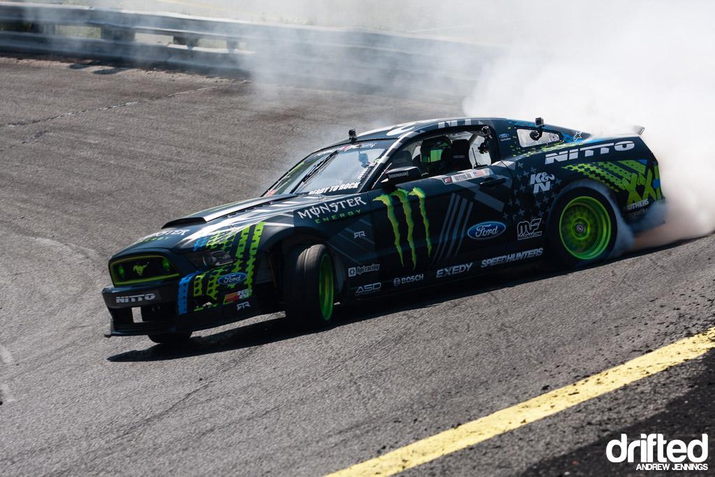 Vaughn Gittin Jr. Monster Energy Nitto Tire Ford Mustang RTR