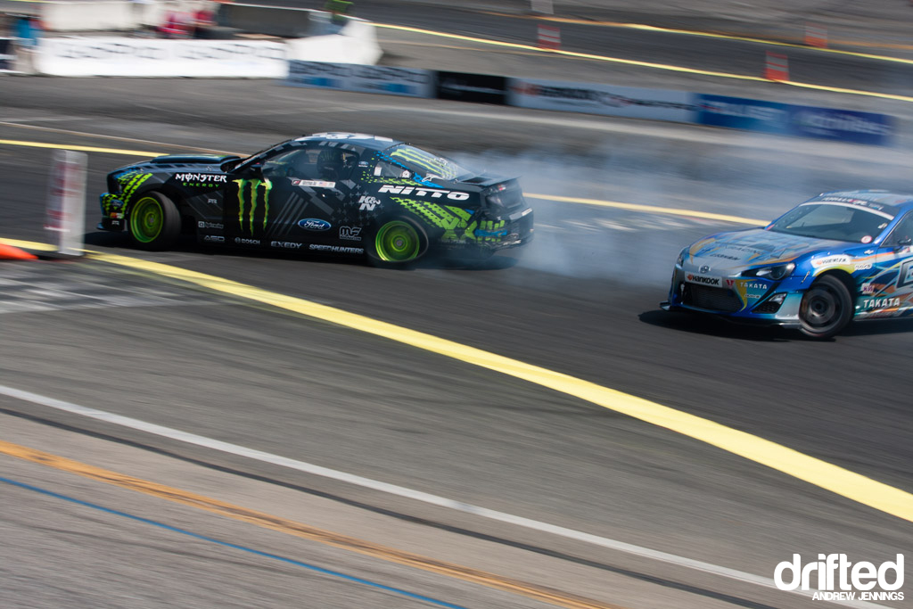 Vaughn Gittin Jr. vs. Ken Gushi