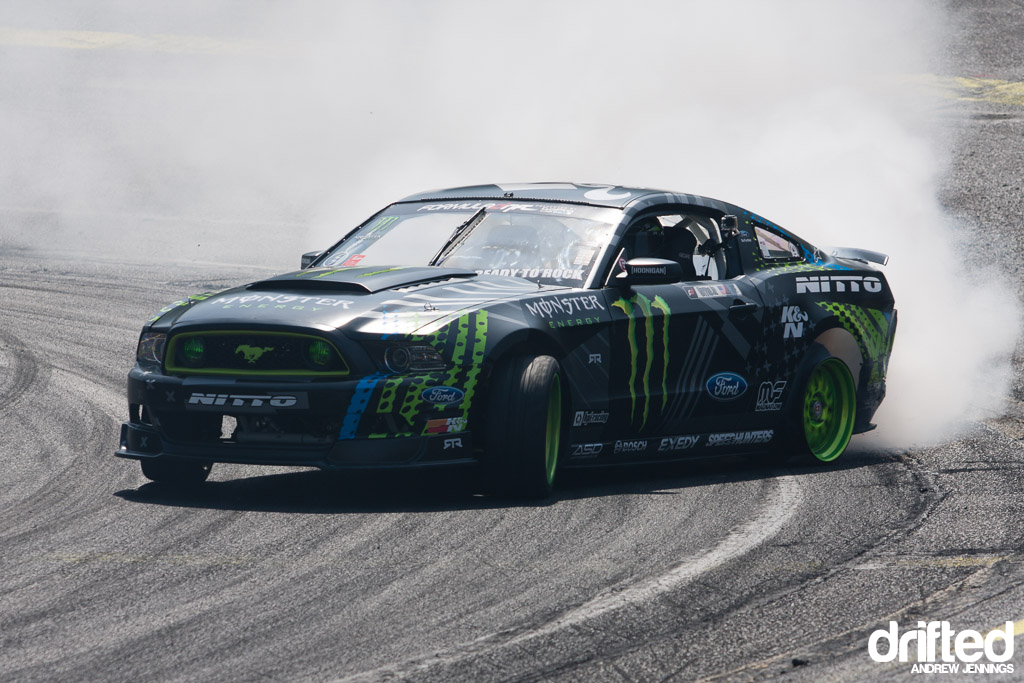 Vaughn Gittin Jr. no tire drift