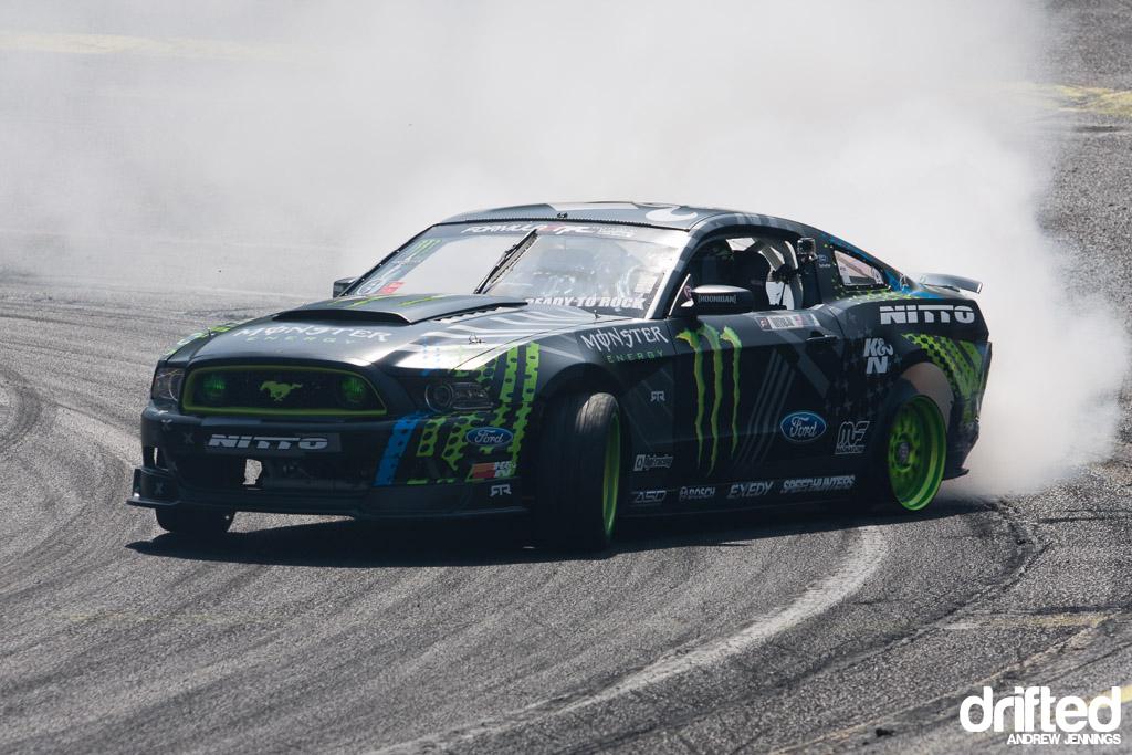 Vaughn Gittin Jr. no tire drift