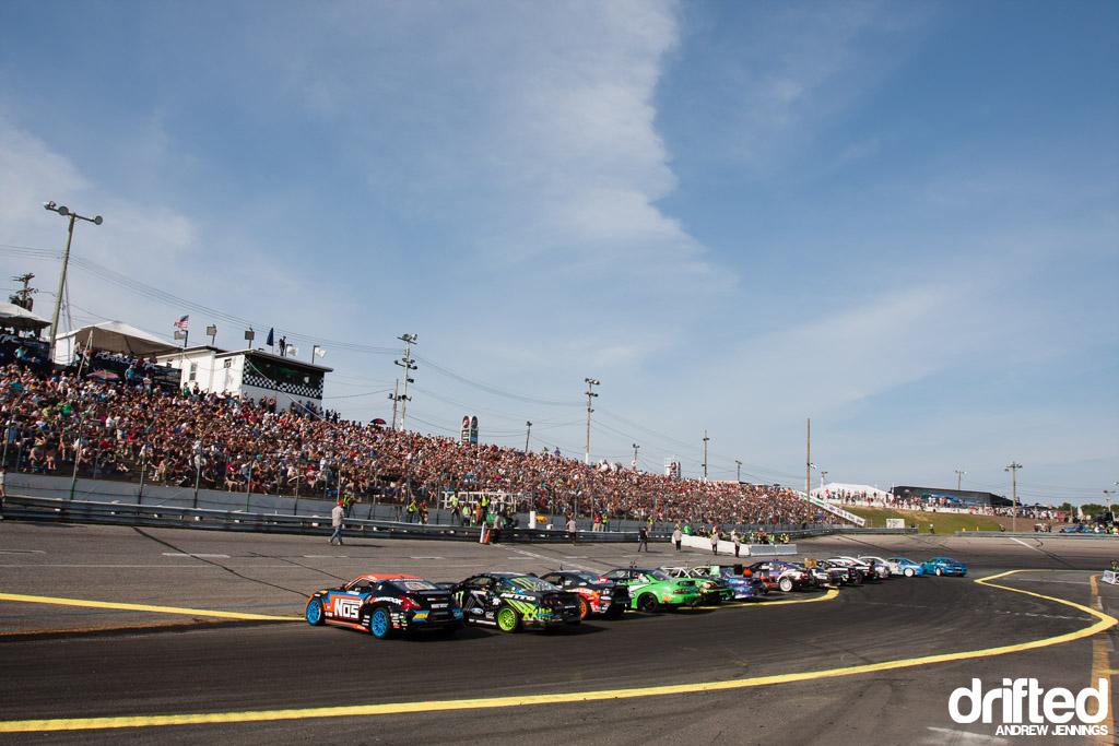 Formula Drift Wall NJ Top 16 Introduction