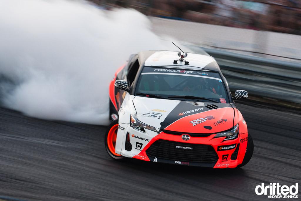 Fredric Aasbo Hankook Tire Scion Racing tC