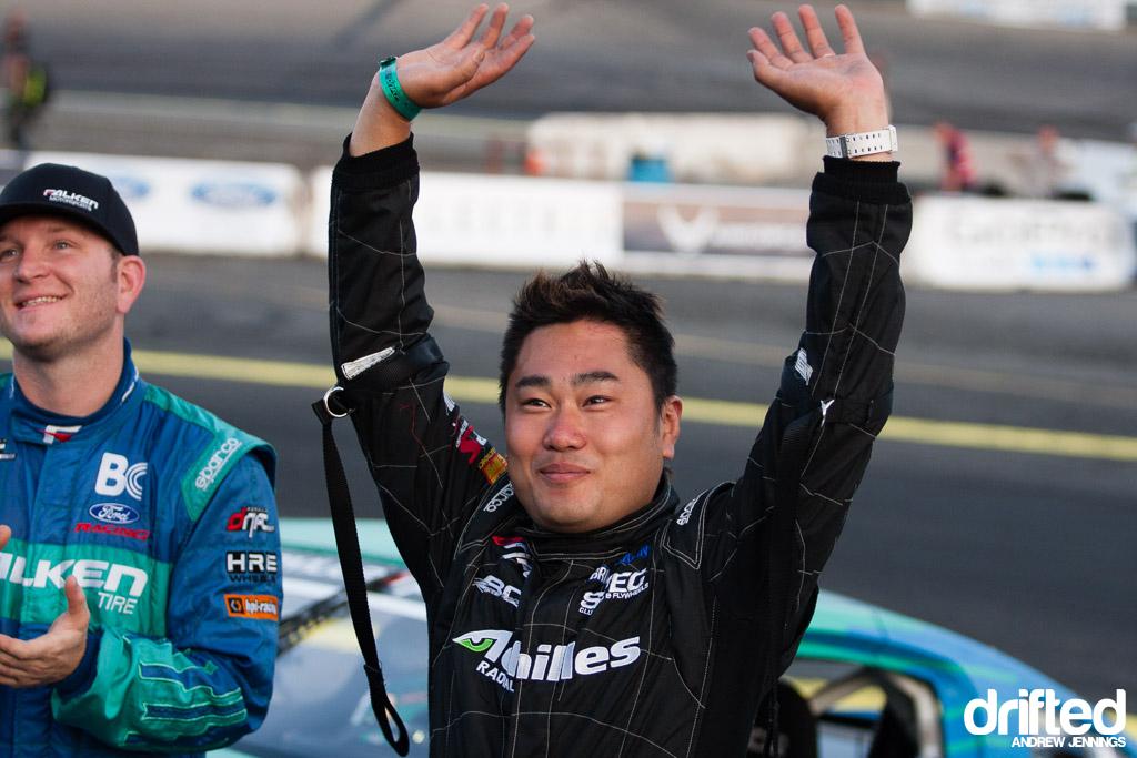 Daigo Saito winner of FD Wall NJ