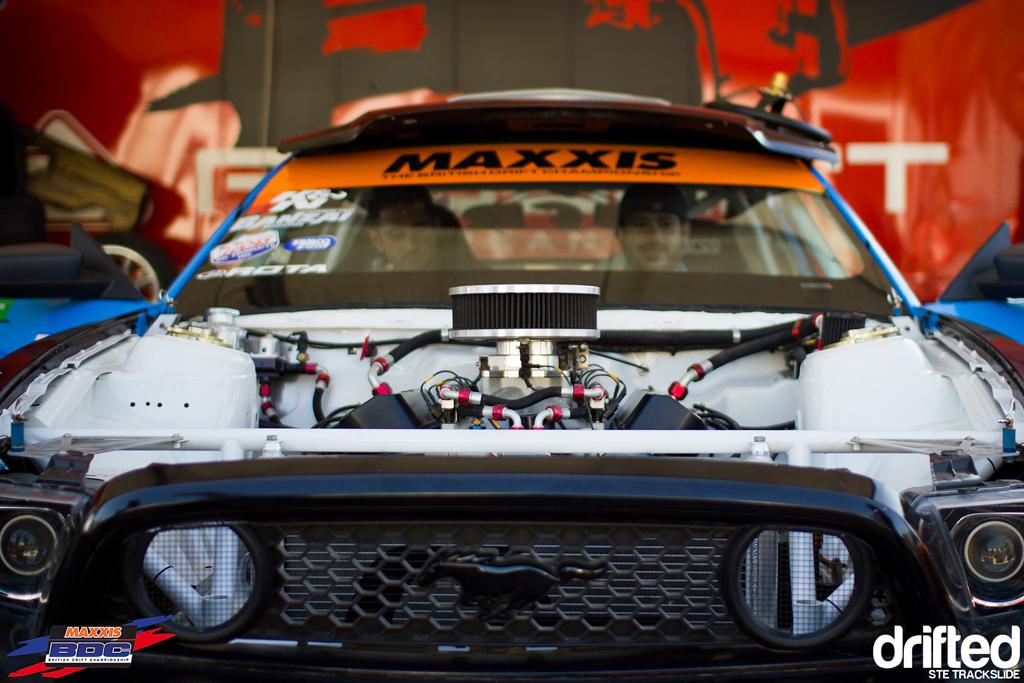 Ste Trackslide BDC RD3 Mustang Engine 2
