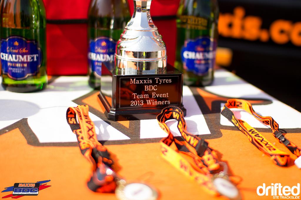 Ste Trackslide BDC Team Event 2013 Trophy Shot