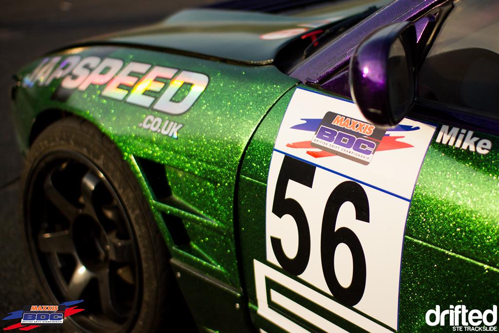 Ste Trackslide BDC Team Event 2013 Glitter Nissan Onevia 2