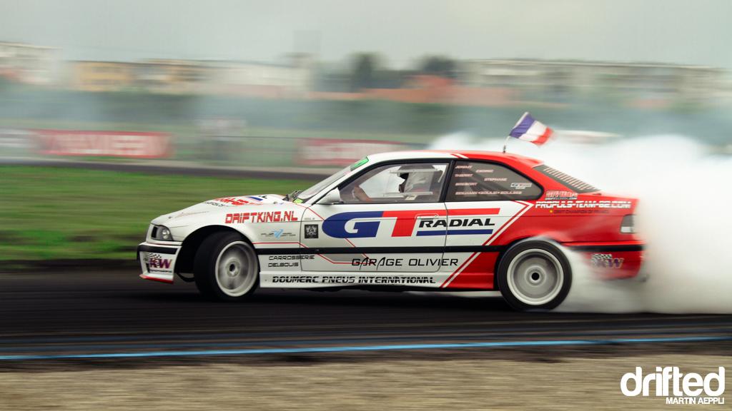 Benjamin Boulbes, E36 V8