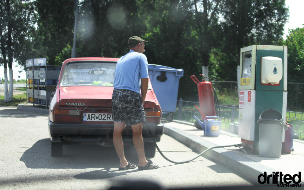 Romanian Gas Station