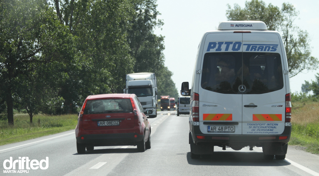 Romanian Driving Style