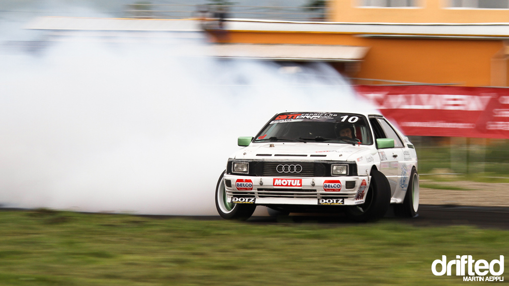Bogdan Padurariu, Audi Quattro