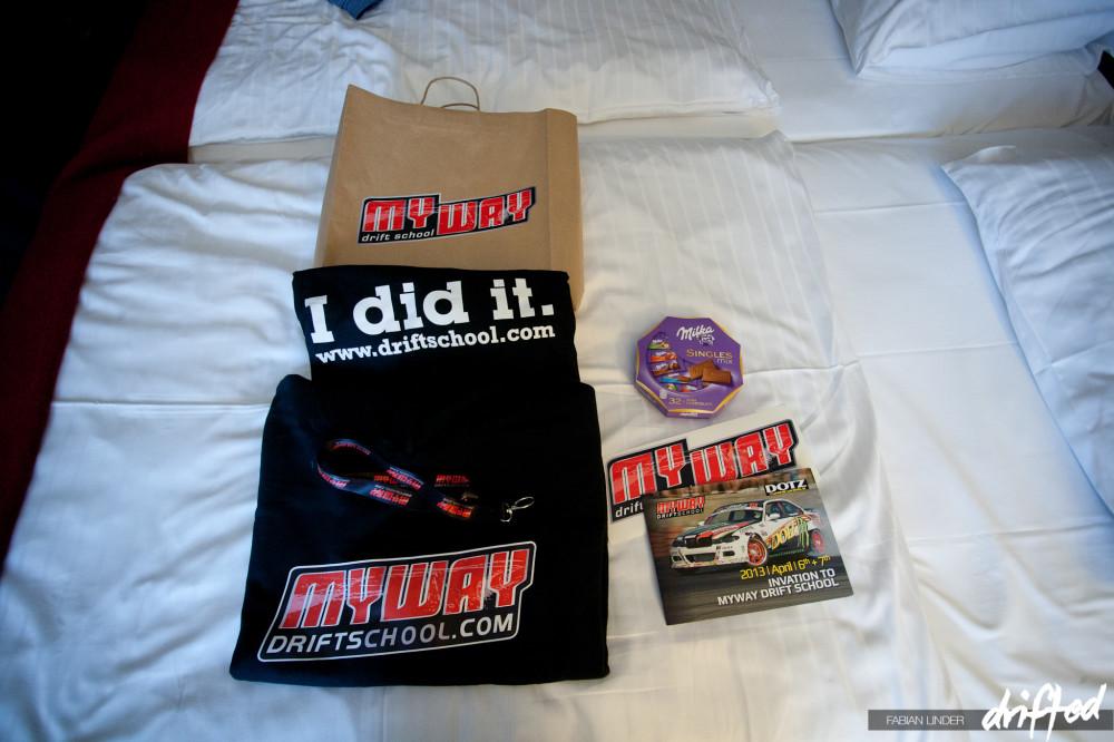 MYWAY Drift School  gift package