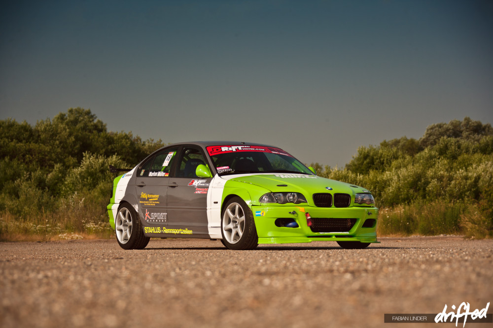 the Drifthunter E46 - 2013 Look