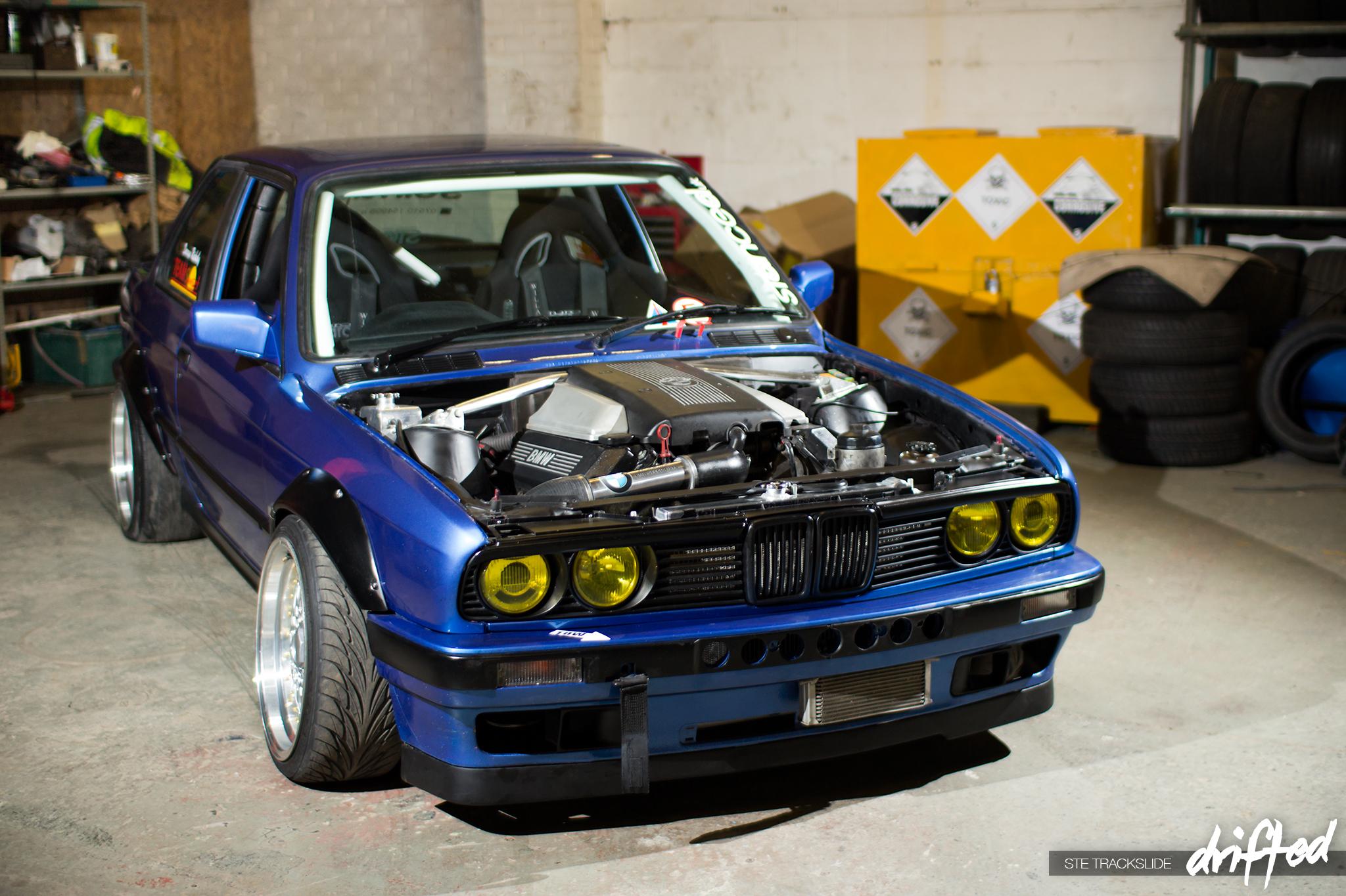 Drift Car Progression Darren Rickaby S V8 E30 Drifted Com