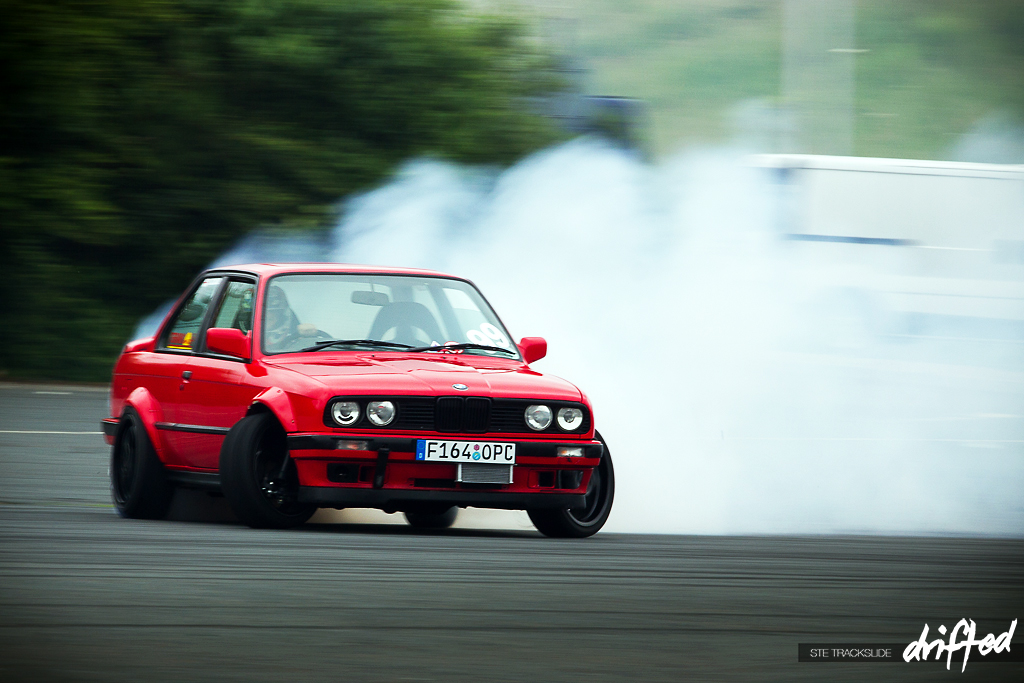 DRIFT CAR: Progression – Darren Rickaby's V8 E30 | Drifted.com A Day To Remember