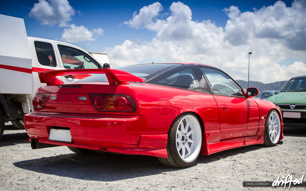 Red 180sx