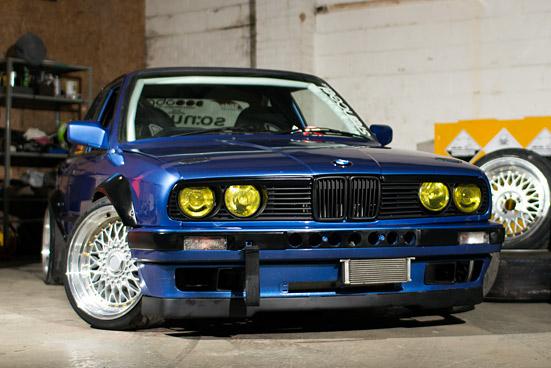 DRIFT CAR: Progression – Darren Rickaby's V8 E30