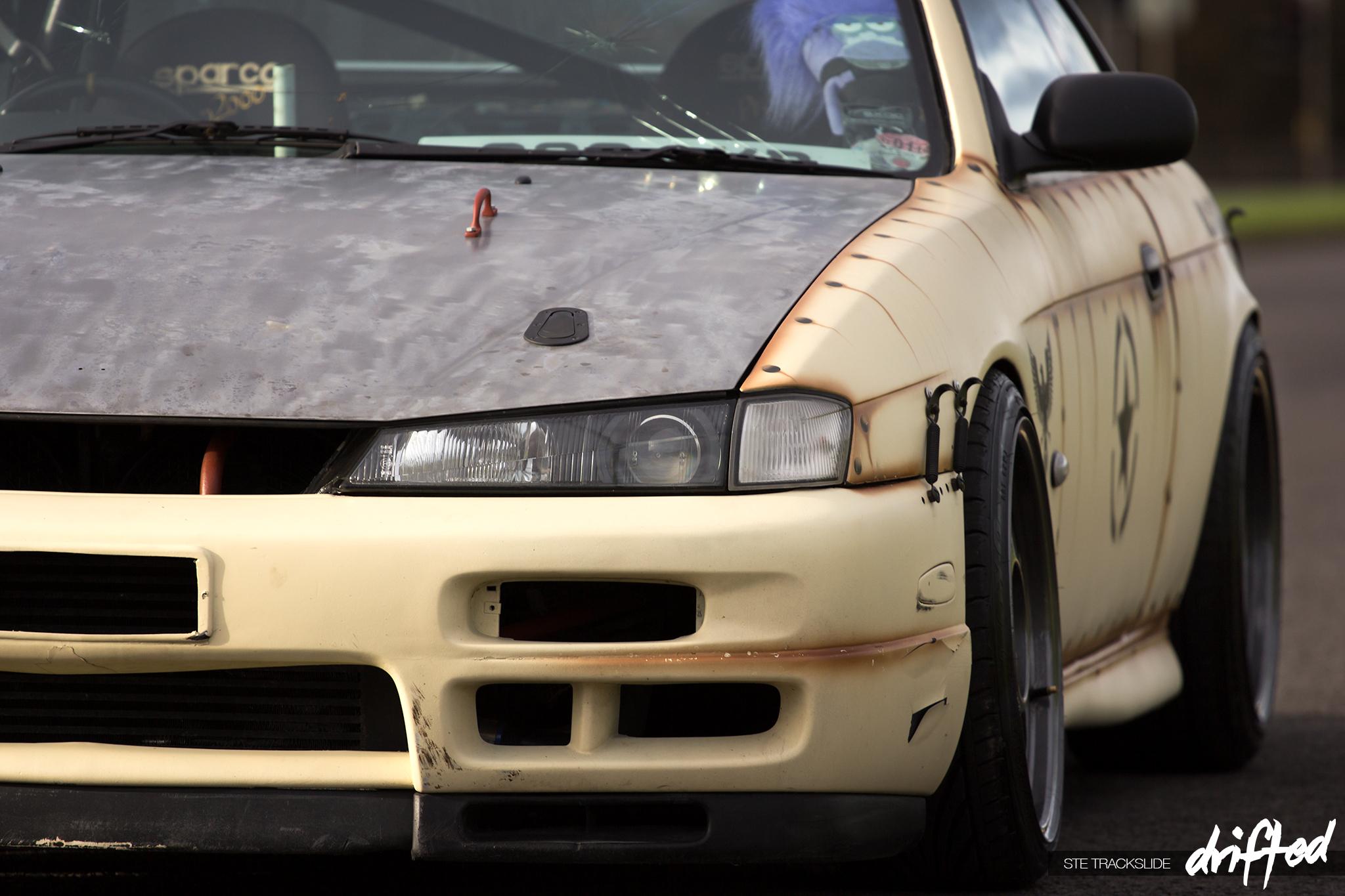 Drift car louis lawrence prepared for war driftedcom for Car interior paint job
