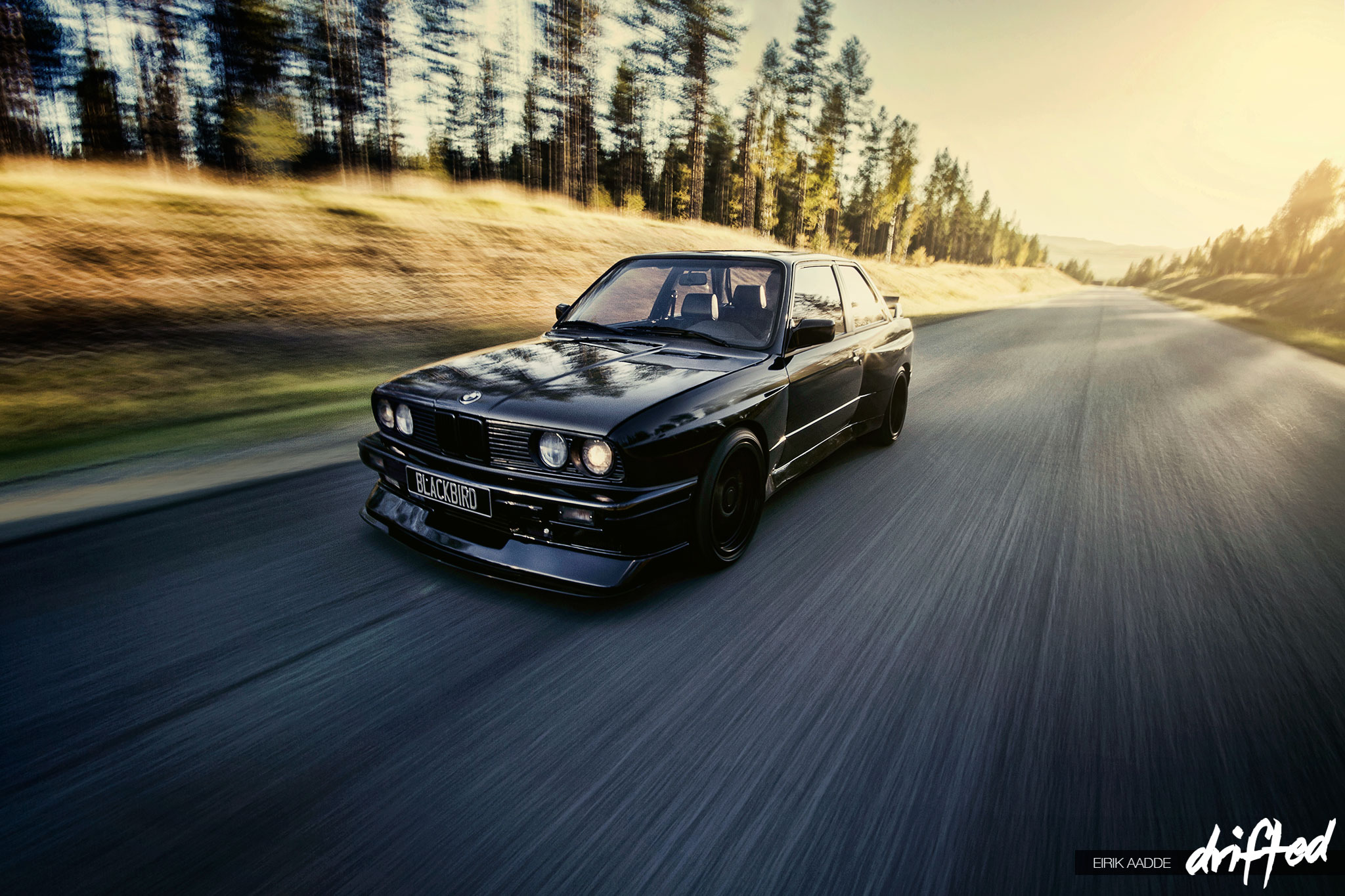 Feature Stian S E30 M3 Blackbird Drifted Com