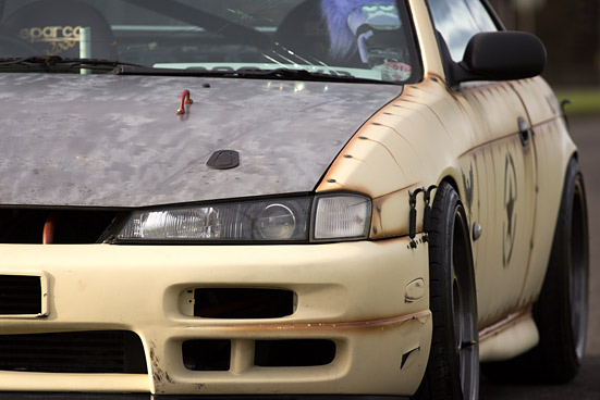 DRIFT CAR: Louis Lawrence: Prepared for War…