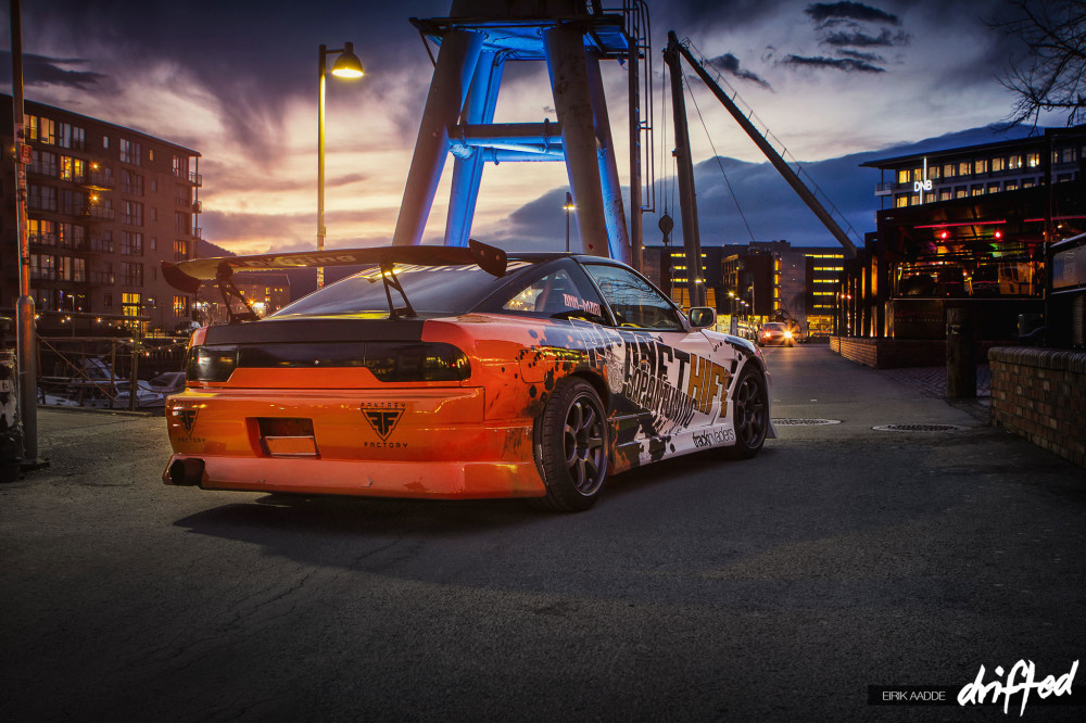 Driftcar at Night