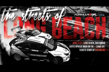 LIVESTREAM: Formula Drift 2014: The Streets of Long Beach