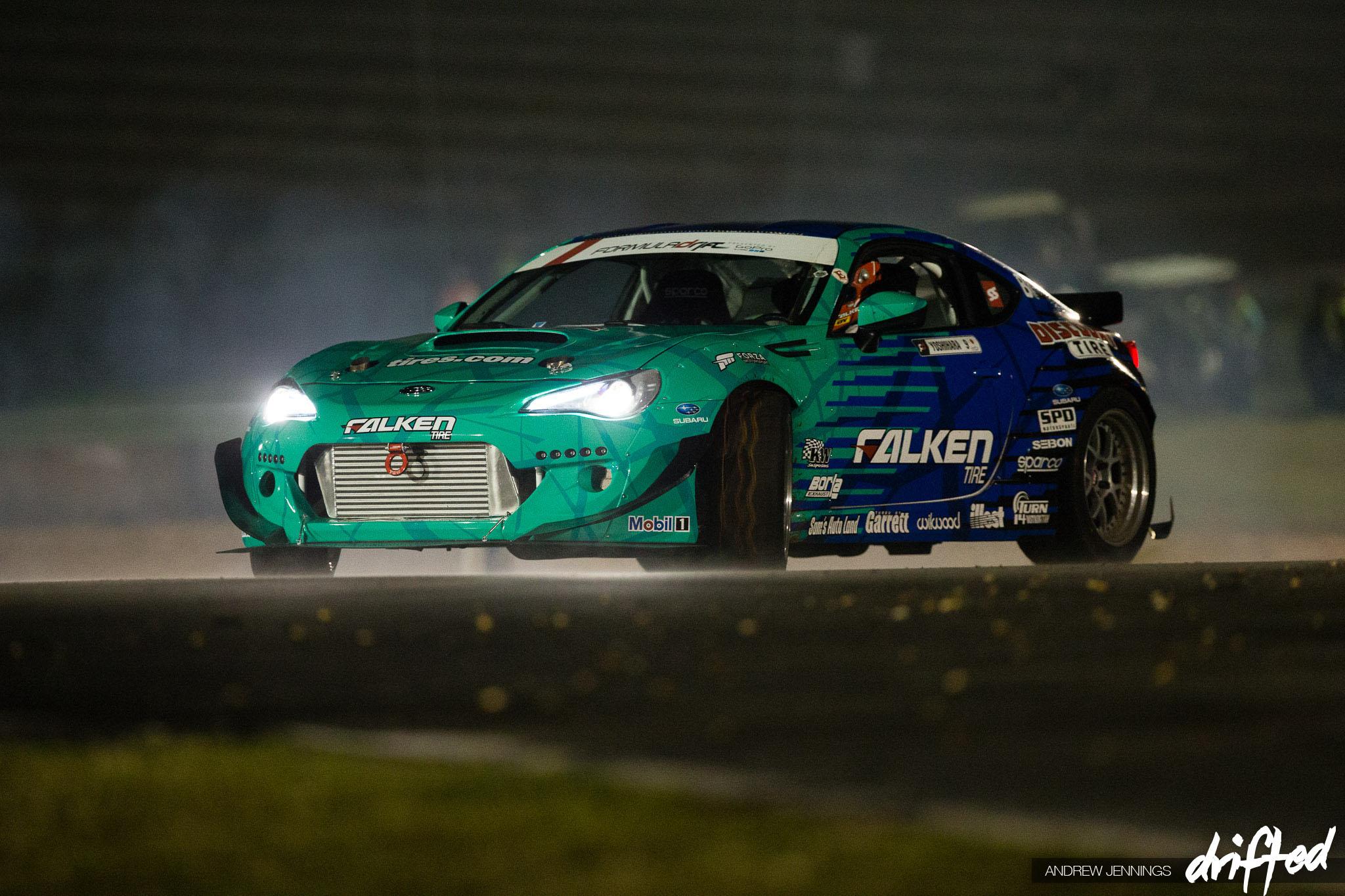 Daijiro Yoshihara Falken Tire Subaru BRZ