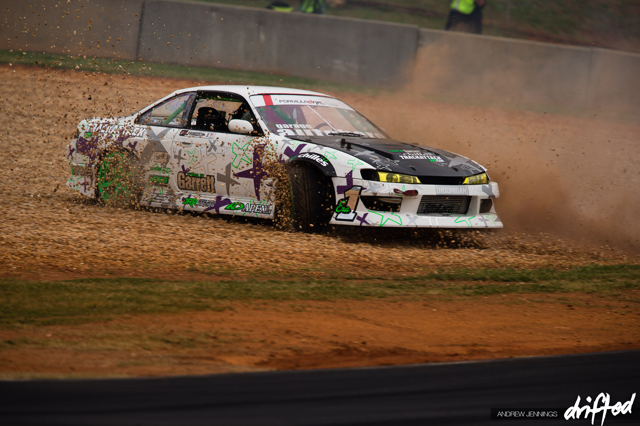 Rob Primozich Garage Autohero Track Attack Nissan 240SX