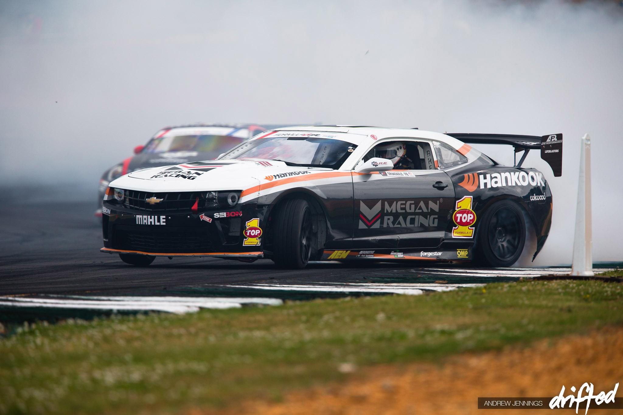 Conrad Grunewald Megan Racing Chevrolet Camaro