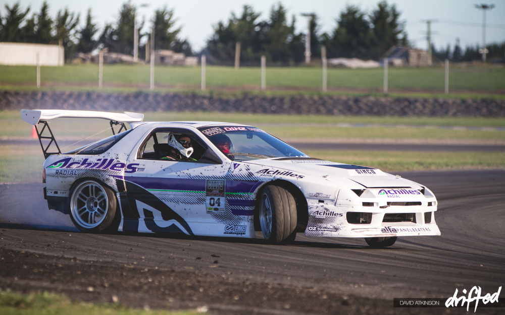 Andrew Redward RX7