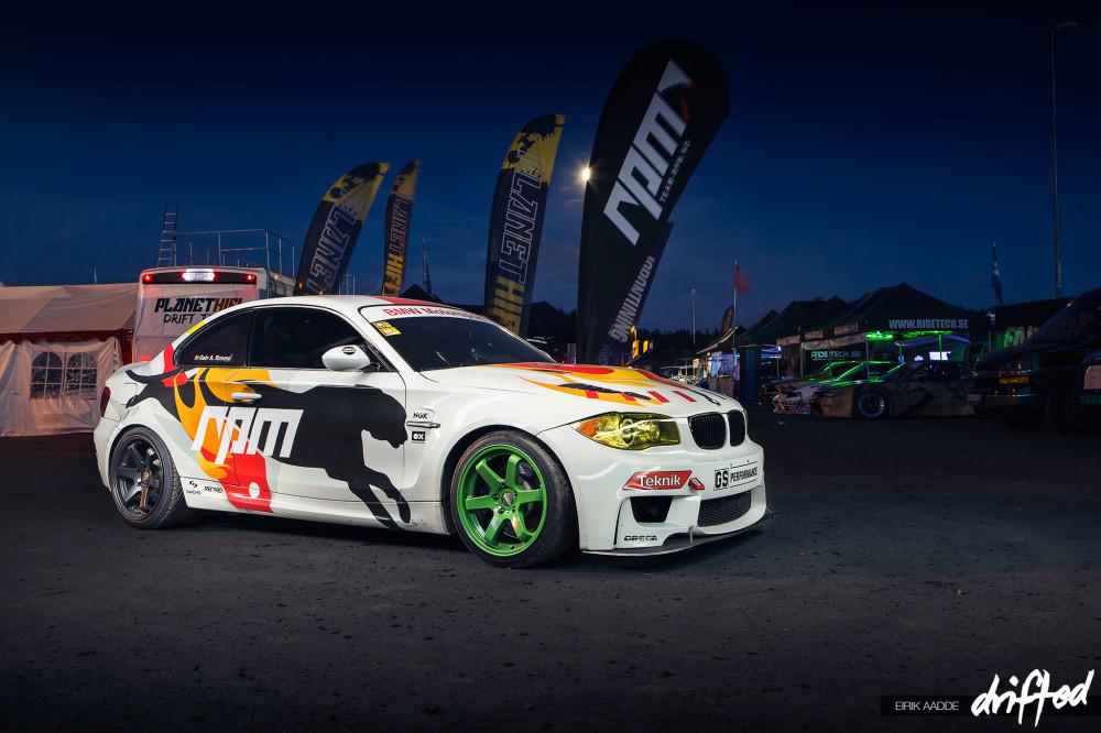 Team RPM BMW 1M at Gatebil Rudskogen 2014 drifted.com
