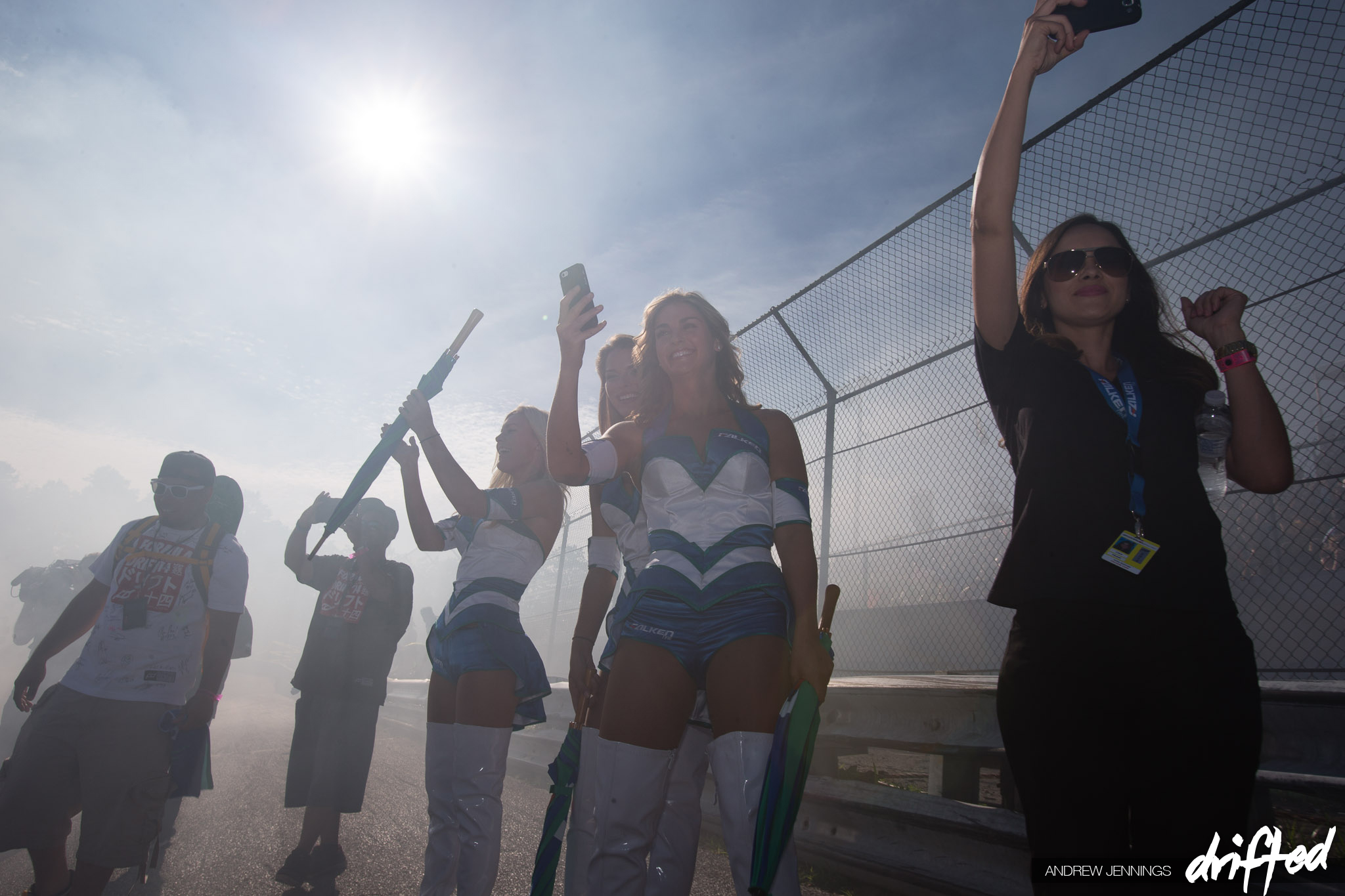 Falken Tire Umbrella Girls