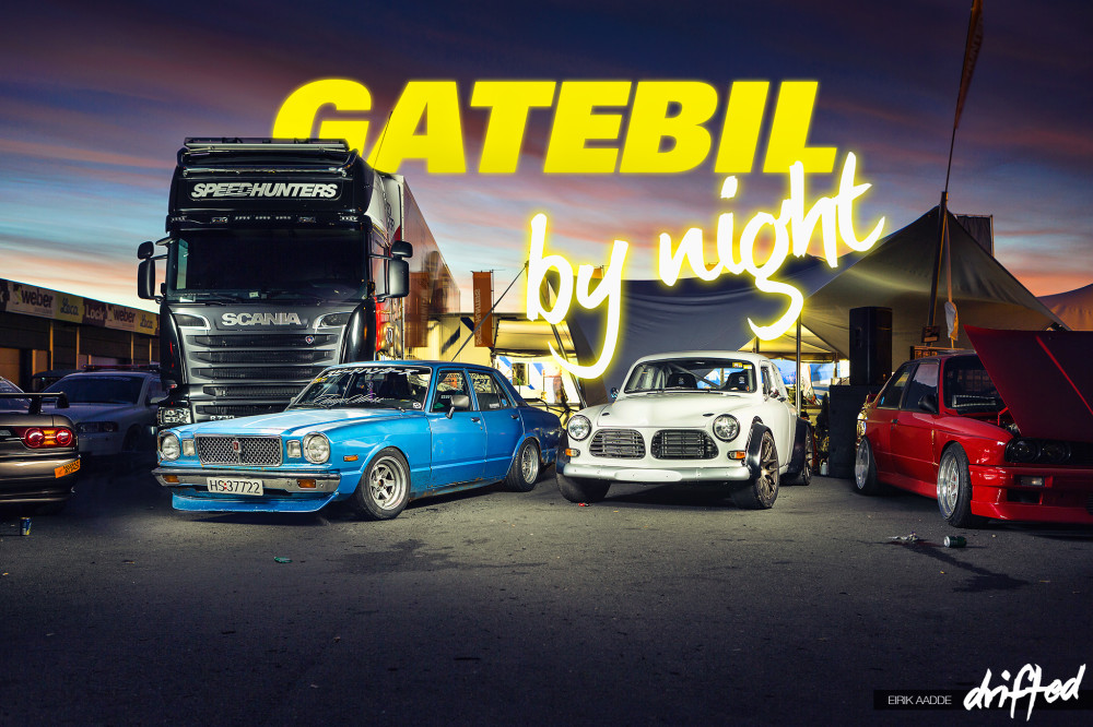 Speedhunters area at Gatebil Rudskogen #BecauseGatebil