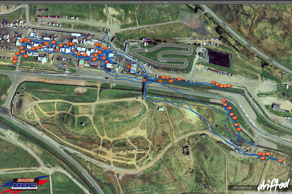 Map Track Overlay