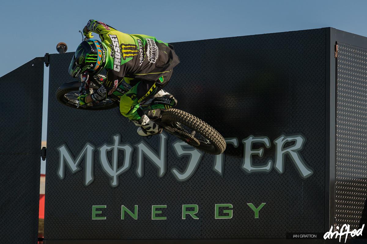 motorcycle rider jump