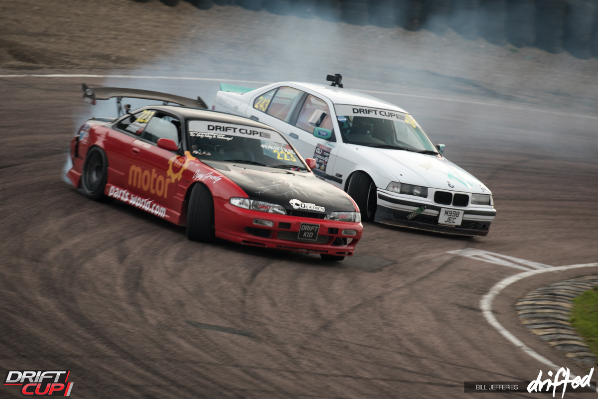 Drifting is the act of pushing a RWD car in to oversteer