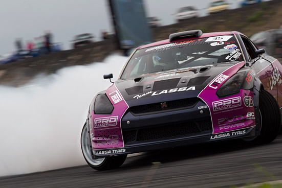 SNAPSHOT: Team Lassa R35 GTR Drift Car