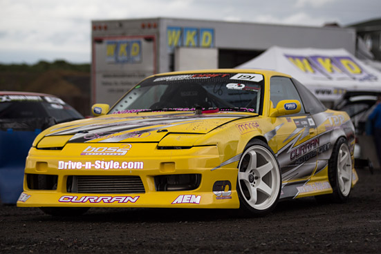 SNAPSHOT: Nissan 180sx Drift car