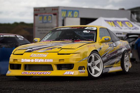SNAPSHOT: Nissan 180sx Drift car