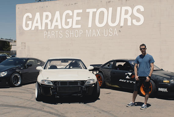 GARAGE TOURS: Parts Shop Max USA