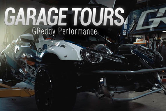 GARAGE TOURS: GReddy Performance