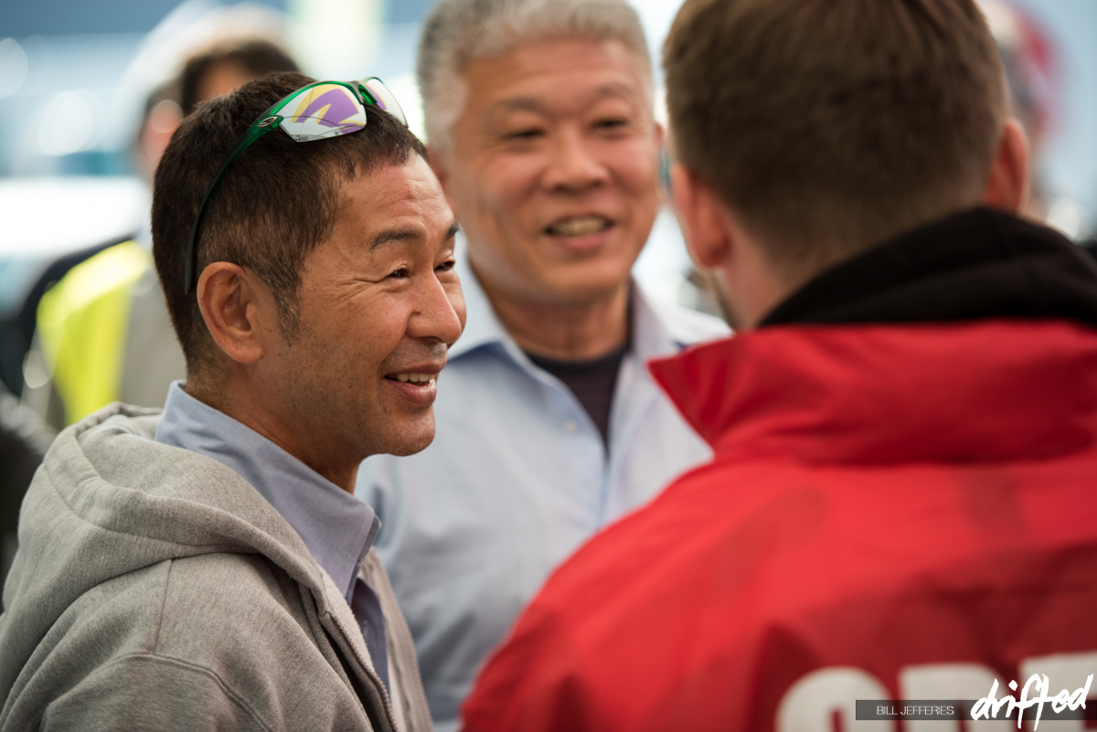 Keiichi Tsuchiya - drift king - catching up with the boys