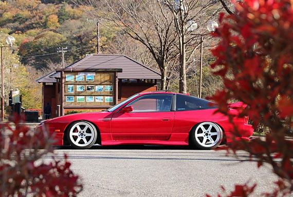 DRIFT CAR: Nissan 180sx master class