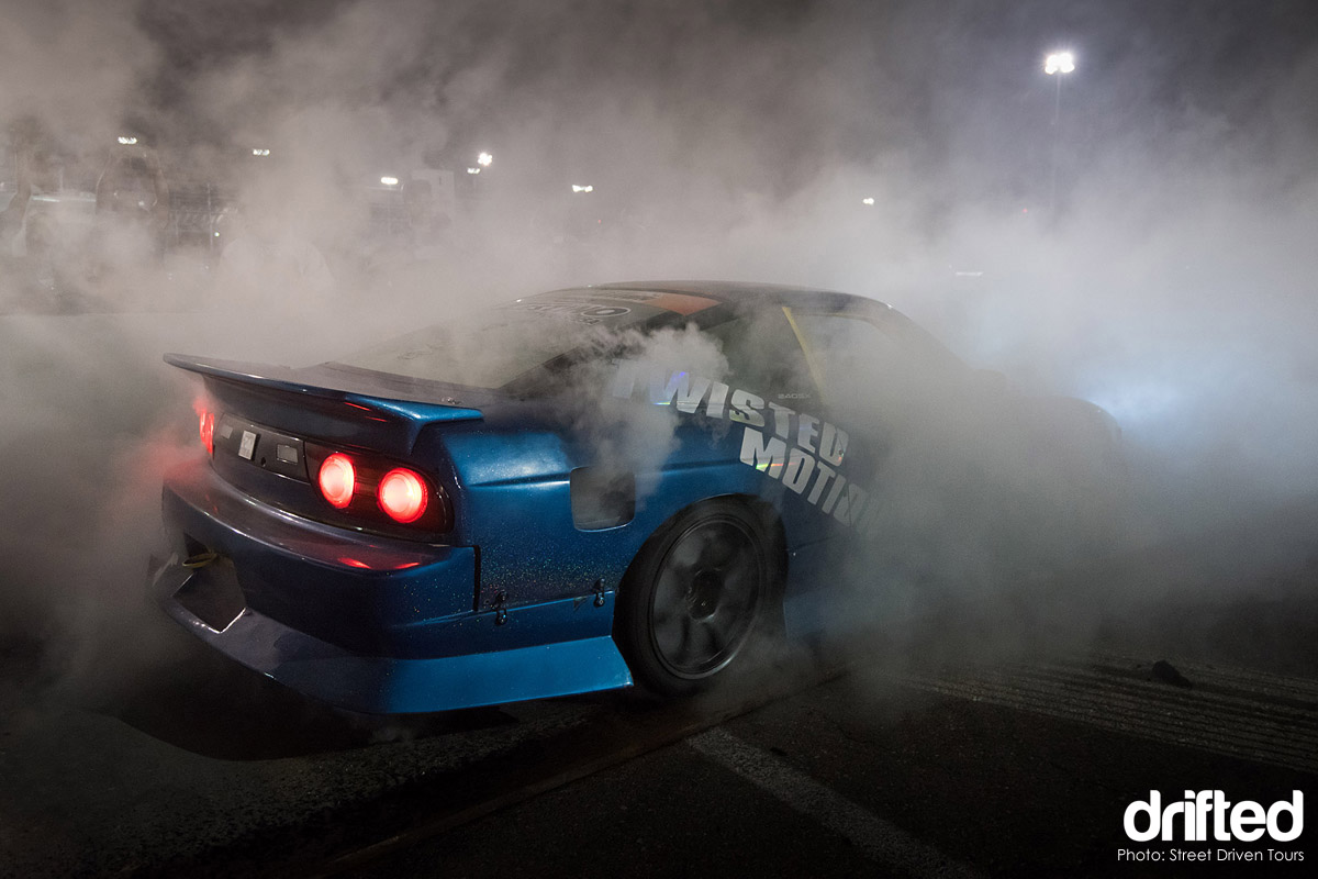 nissan 240sx s13 burnout