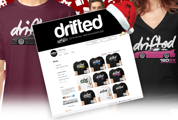 Drifted Shop – We are open for your Christmas orders!