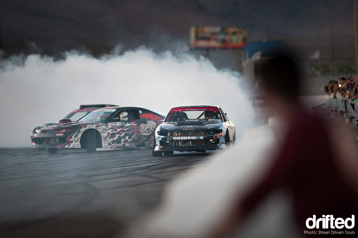 twin drift nissan silvia