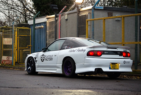 FEATURE: The Flatout Factory 180sx Drift Car