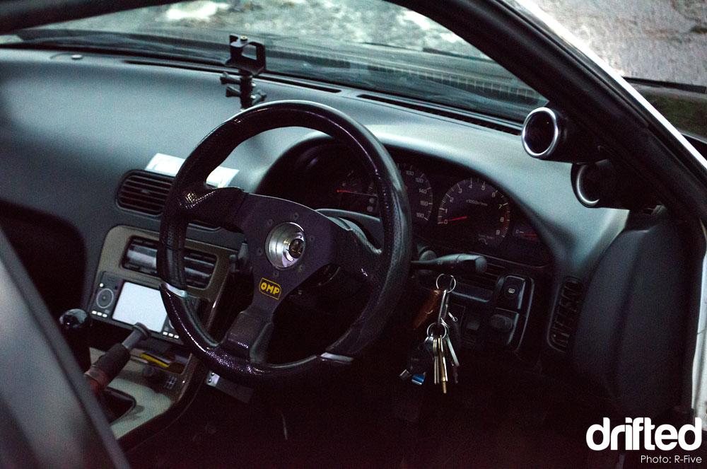 Nissan 180sx Interior