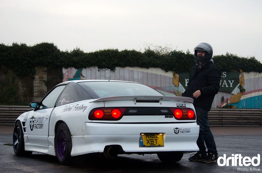 Nissan 180sx rear