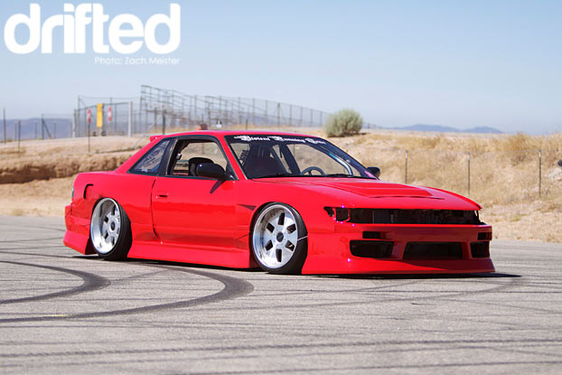 violent running tribe 240sx coupe red